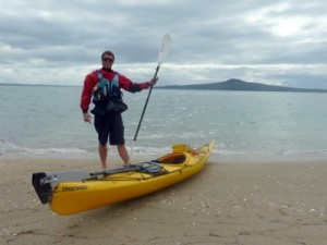 Auckland Sea Kayaks guide ready for work