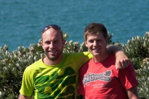 Nic Mead and Rob Lelieveld Auckland Sea Kayaks Guides