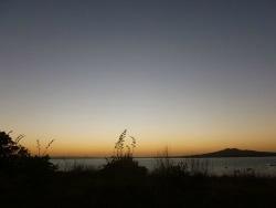 camping on Motuihe island