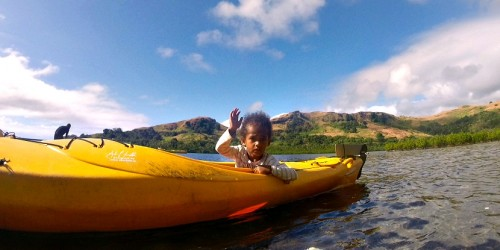 Sea Kayak Fiji