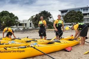 Team building Auckland with volvo ocean race crew