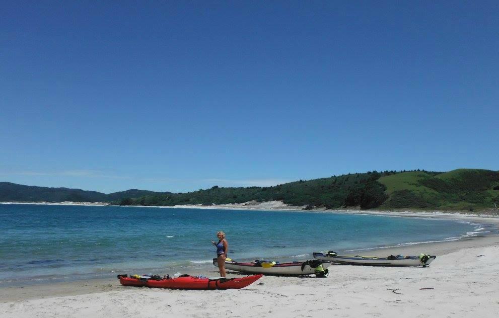 Great Barrier island sea kayak tour photo 1
