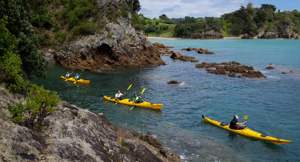 Waiheke Island Sea Kayaking