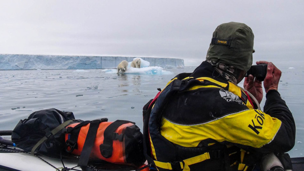 Tara Mulvany to talk in Auckland about paddling around Svalbard 3