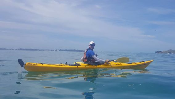 Adam Sawyer Sea Kayak Auckland