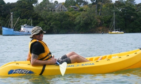 Sit on Top Kayak in Auckland New Zealand