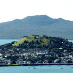 North head and Rangitoto
