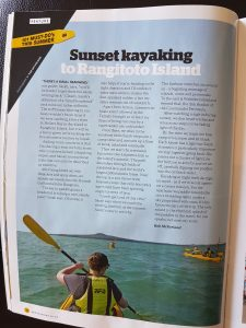 101 must-do NZ, kayaks auckland