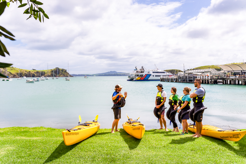 Auckland Sea Kayaks Certificate of Excellence for more than 5 years