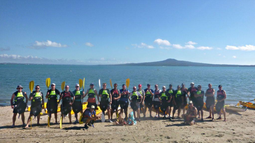 Group sea kayak adventures auckland