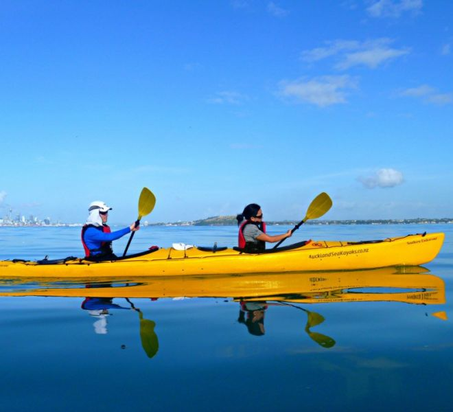 multi day kayak tour auckland