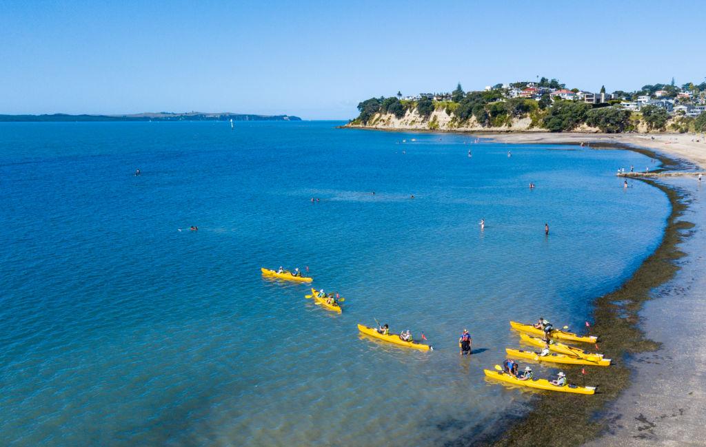 Auckland Sea Kayaks team building