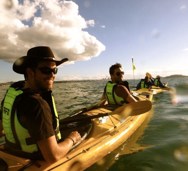 multi day kayak tour auckland