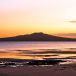 Sunset over Rangitoto