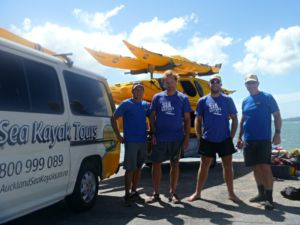 Auckland Sea Kayaks guides