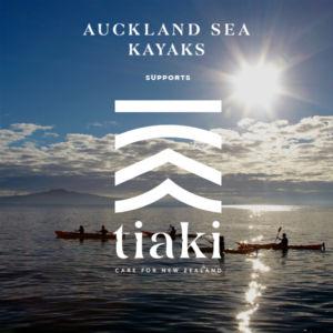 Tiaki promise Auckland sea kayaks