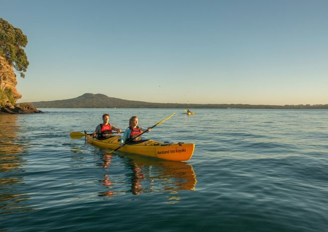 Sunset tour in Auckland to Rangitoto
