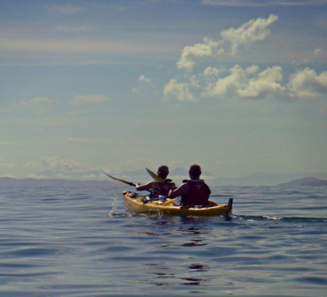 kayaking auckland
