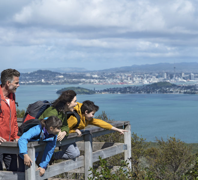 Auckland guided walk rangitoto
