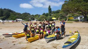 Duke of Edinburgh Award Auckland New Zealand with Auckland Sea Kayaks