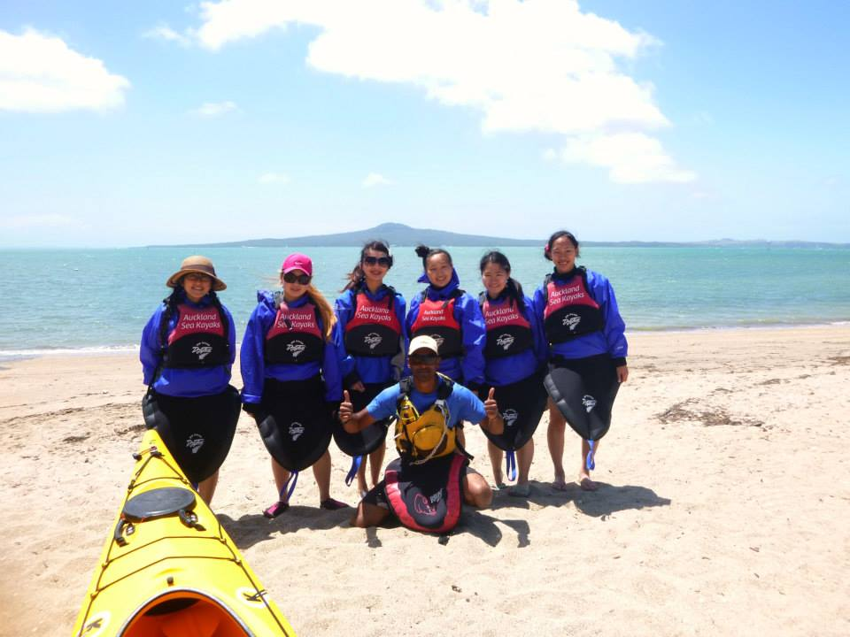 Duke of Edinburgh Award Auckland New Zealand with Auckland Sea Kayaks
