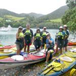 Great barrier island sea kayak