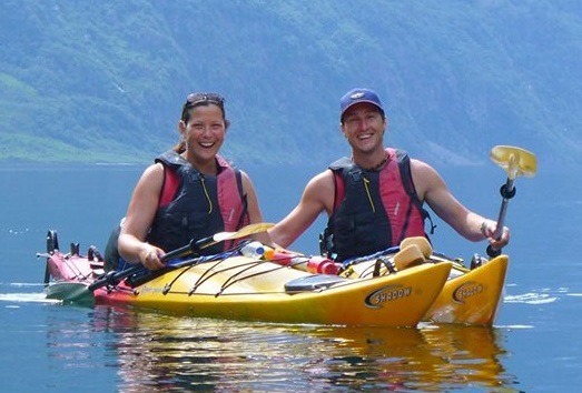 Learn to kayak Auckland