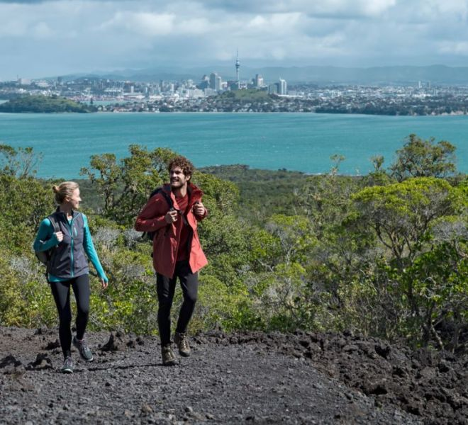 Guided hike on Rangitoto island with Auckland Sea Kayaks