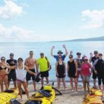 group adventure in auckland with auckland sea kayaks