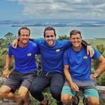 Auckland Sea Kayaks Guides with Nic Mead summit Rangitoto