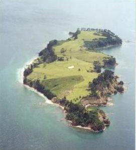Motuora island 30 years ago haurkai gulf marine park