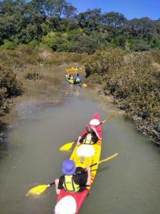 Duke of Edinburgh (DOE) Sea Kayaking Award Trip
