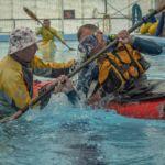 Learn to roll a sea kayak Auckland Sea Kayaks