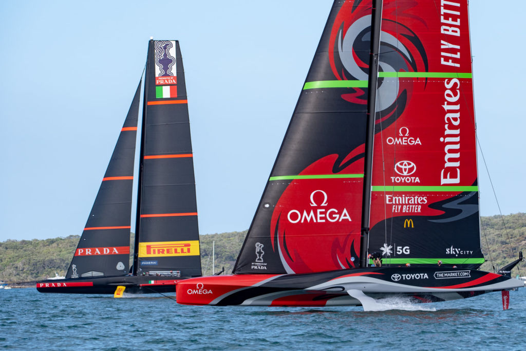 Americas Cup Auckland best place to view sea kayak