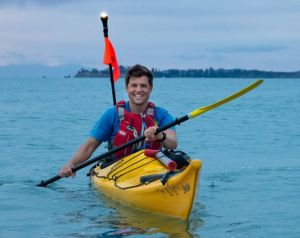 Nic Mead sea kayak guide Auckland Sea Kayaks