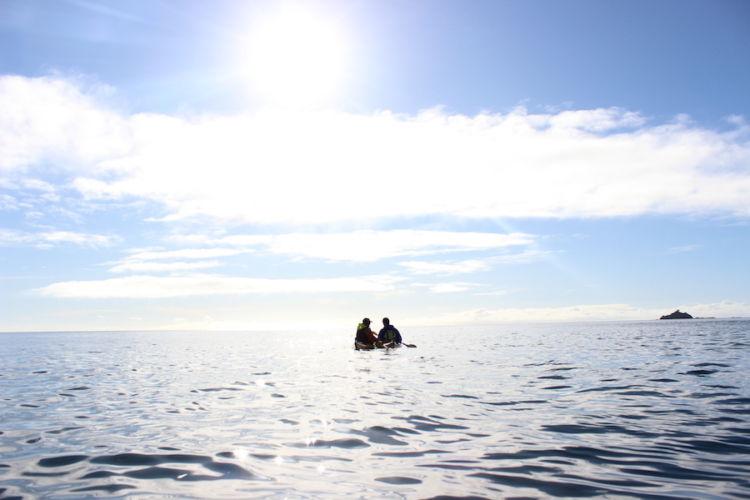 Auckland Sea Kayaks Sparkling Together