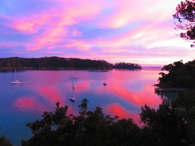 Auckland Sea Kayaks Bon Accord Harbour, Kawau Island a boaties and kayakers haven